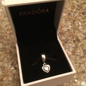 Pandora Heart Dangle Charm